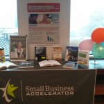 Small Business book display